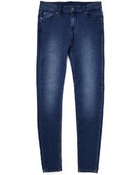 Cheap Monday Him Spray Jeans Mid Blue In Spray-On Fit - Lyst