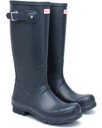 HUNTER - Men's Norris Field Side Adjustable Rain Boots - Lyst