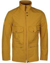 Pretty Green - Mustard Yellow Seam Sealed M65 Field Jacket - Lyst