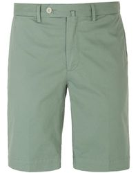 Hackett - Amalfi Pistachio Green Cotton Chino Shorts - Lyst