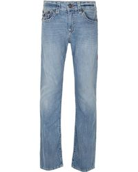 True Religion - Ricky Worn Pier Super T Jeans - Lyst