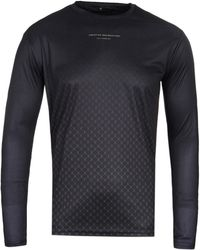 Creative Recreation - Ombre Black Long Sleeve T-shirt - Lyst