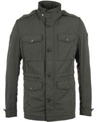 BOSS - Owade-w Khaki Hooded Field Jacket - Lyst