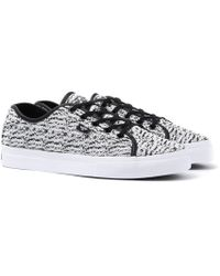 Creative Recreation - Kaplan White & Black Knitted Trainers - Lyst