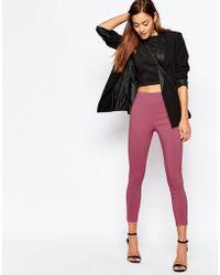 ASOS | Skinny Crop Trousers | Lyst