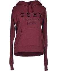 Obey Sweatshirt - Lyst