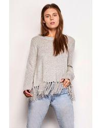 BB Dakota - Jeraldine Fringe Sweater - Lyst