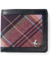 Vivienne Westwood Multicoloured Tartan Insert Small Wallet - Lyst