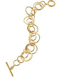 Lauren by Ralph Lauren Circle Link Bracelet - Lyst