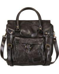 Officine Creative Vintage Tucson Leather Messenger Bag - Lyst