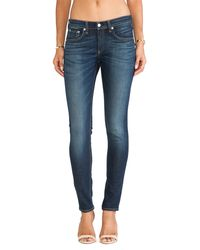 Rag & Bone Blue The Skinny - Lyst
