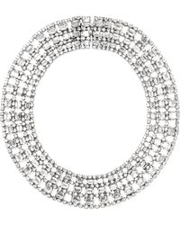 Carole Tanenbaum - Vintage Emeraldcut Bib Necklace - Lyst