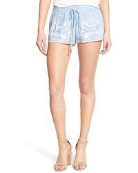 Somedays Lovin - 'moody' Embroidered Shorts - Lyst