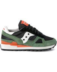 Saucony Sneaker--Mod.-Jazz-Original-Aus-Wildleder-Und-Textil-In-Blau-Und-Weissem-Logo - Lyst