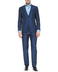 Paul Smith The Byard Herringbone Dot Suit - Lyst