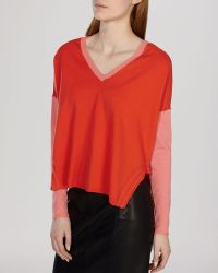 Karen Millen Sweater - Color Block - Lyst