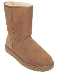 UGG - Classic Short Shearling Boots - Lyst