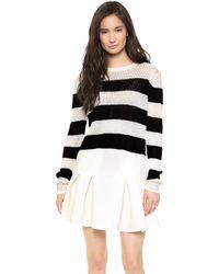 Rachel Zoe - Austin Cropped Sweater  - Lyst