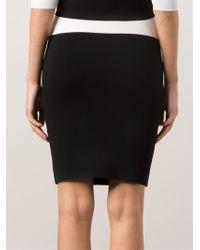 Narciso Rodriguez Milano Knit Skirt - Lyst