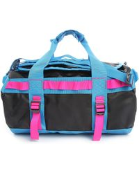 The North Face Black And Fluoro Base Camp Xs 24 Hr Bag black - Lyst
