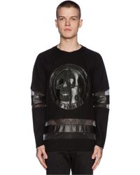 LPD New York Long Sleeve Jersey with Leather Patch - Lyst
