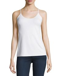 Todd And Duncan - Soft-knit Spaghetti Strap Camisole - Lyst