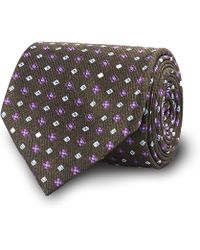 Ledbury The Dark Olive Fowler Tie - Lyst