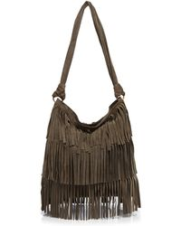 Mr. - . Hudson Fringe Shoulder Bag - Lyst