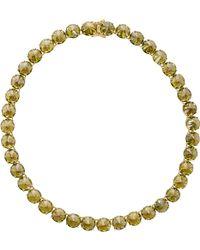 Fallon Gold Classique Necklace - Lyst