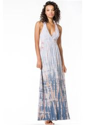 Hard Tail Drop Back Maxi Dress - Lyst