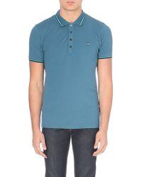 Diesel T-Etienne Shirt Cotton Polo Shirt - For Men - Lyst