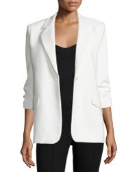 Elizabeth and James | Heritage James Crepe Jacket | Lyst