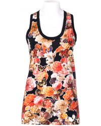 Givenchy Tank Cotton Floral Print - Lyst