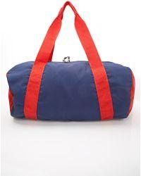 21men Colorblock Duffle Bag - Lyst