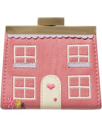 Ollie & Nic - Gretel Pink Small Frame Purse - Lyst