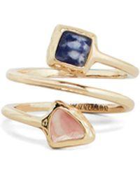 BCBGMAXAZRIA - Bcbg Natural Stone Ring - Lyst
