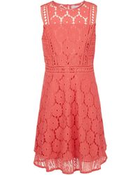 BCBGMAXAZRIA - Bcbg Multi-lace Overlay Dress - Toddler - Lyst