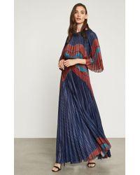 BCBGMAXAZRIA - Bcbg Aubrielle Sunburst Pleated Gown - Lyst