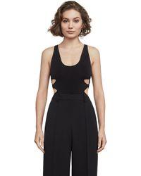 BCBGMAXAZRIA - Bcbg Chrissy Sleeveless Bodysuit - Lyst