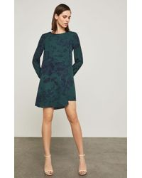 BCBGMAXAZRIA - Ashton Floral Print Dress - Lyst