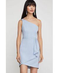 5e6b22d3d24b BCBGMAXAZRIA Bcbg Nahara Lace Off-the-shoulder Dress in Black - Lyst