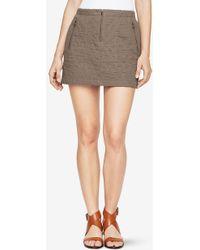 BCBGMAXAZRIA - Dotty Quilted Skirt - Lyst