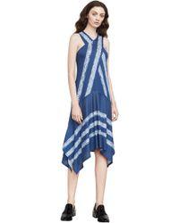 BCBGMAXAZRIA - Bcbg Ada Shibori-print Dress - Lyst