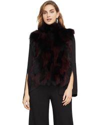 BCBGMAXAZRIA - Bcbg Hudson Fur Vest - Lyst