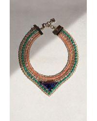 BCBGMAXAZRIA | Stone Necklace | Lyst