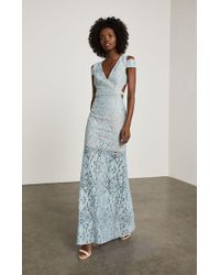 BCBGMAXAZRIA - Bcbg Ava Cutout Lace Gown - Lyst