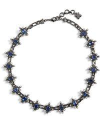 BCBGMAXAZRIA - Bcbg Chain Spike Necklace - Lyst