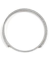 BCBGMAXAZRIA | Glass Stone Choker | Lyst