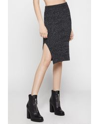 BCBGeneration - Ribbed Pencil Skirt - Lyst