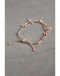 BCBGeneration - Faux Pearl Pulley Bracelet - Lyst